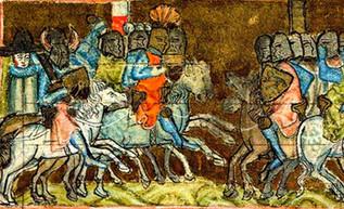 Golpe a la expansión danesa: los alemanes derrotan a Valdemar II