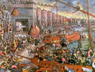 El ejército católico saquea Constantinopla durante tres días