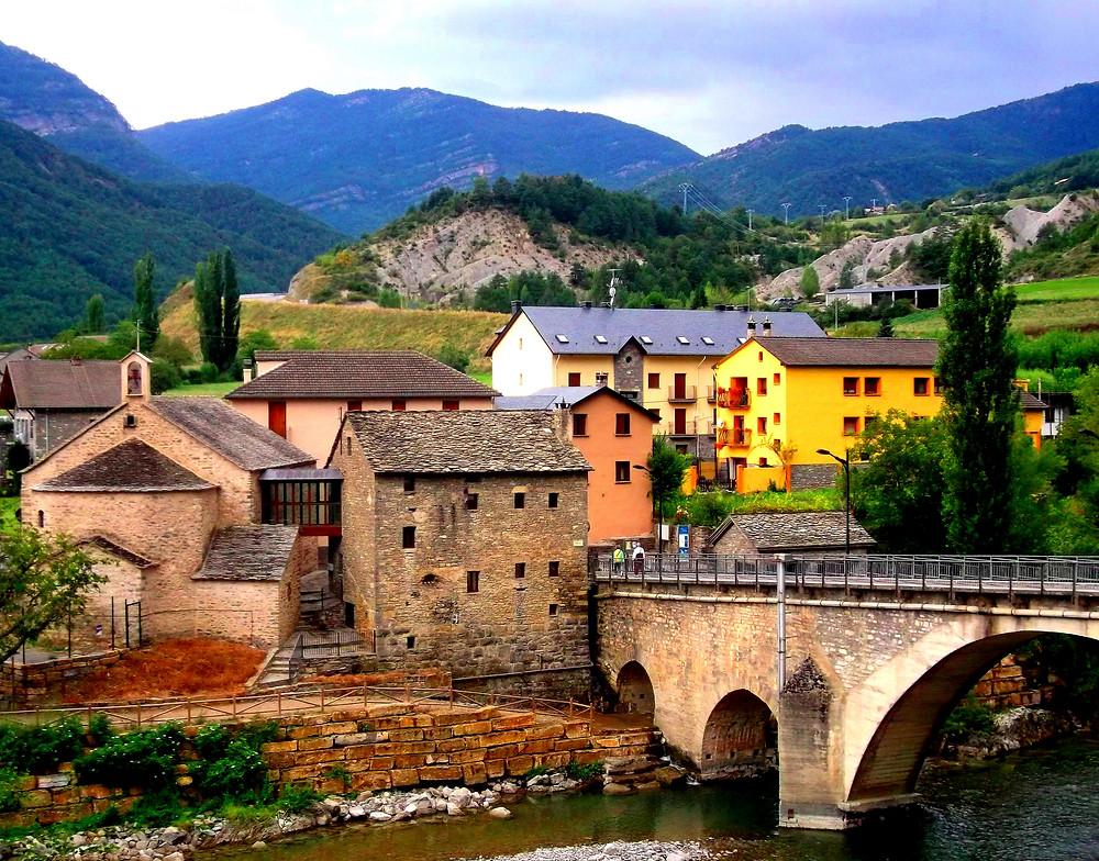 Localidad de Fiscal (Huesca)