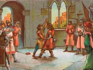 Matan a Pedro de Ahonés tras enfentarse a Jaime I y estalla la guerra en Aragón.