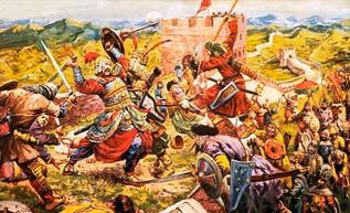 Los mongoles derrotan al ejército chino Jin y someten la capital Zhongdu