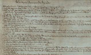 Juan I accede someterse a la ley: nace la Carta Magna, primera constitución escrita