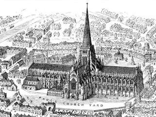 Luis de Francia es aclamado rey de Inglaterra en la catedral de San Pablo
