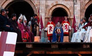 Alfonso IX se impone como rey de León