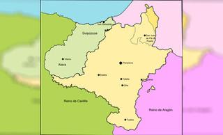 Trágica amputación de Navarra: Castilla arrebata su salida al mar