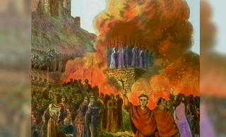 Los cruzados queman otros 400 cátaros, pero son detenidos en Castelnaudary