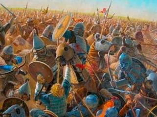 Los mongoles derrotan a una coalición rusa y llegan a las puertas de Kiev
