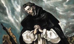"""Domingo de Guzmán; nacen los dominicos, los """"canes del señor"""""""