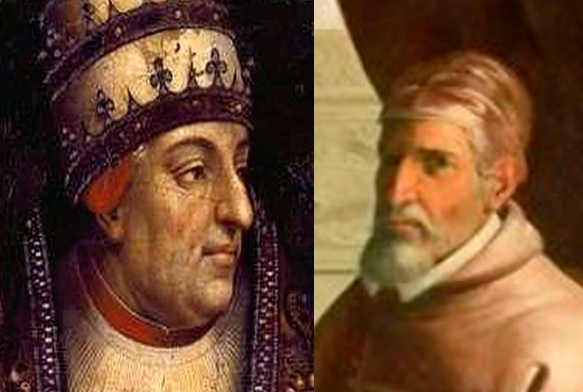 Alejandro III y Víctor IV