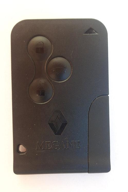 Ключ-карта Renault Megane II с логотипом