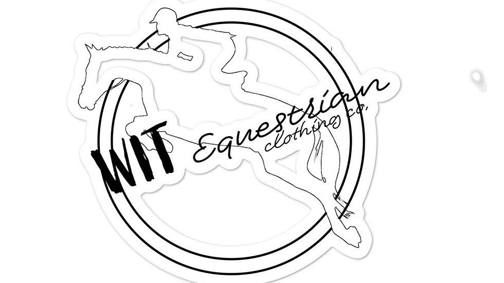 WIT Logo Sticker