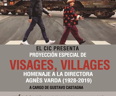 """Proyección Especial de """"Visages, Villages"""" Homenaje a Agnès Varda"""