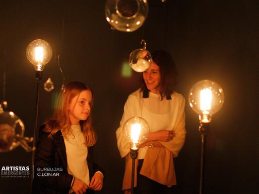 "Se inauguró ""Burbujas"" de Carolina Longo."