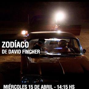 """Zodiaco"" de David Fincher - Seminario Anderson + Ander""Zodiaco"" de David Fincher - Sson + Fincher"