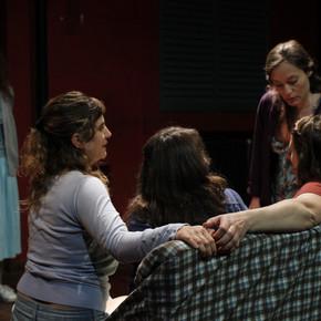 """Se presentó """"Bañarse"""" en el Teatro del CIC."""
