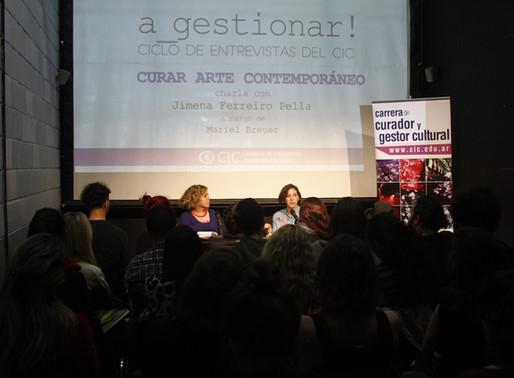 a_gestionar! con Jimena Ferreiro Pella - Curar Arte Contemporáneo