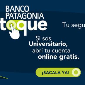 Novedades para estudiantes: Cuenta Patagonia Universitaria