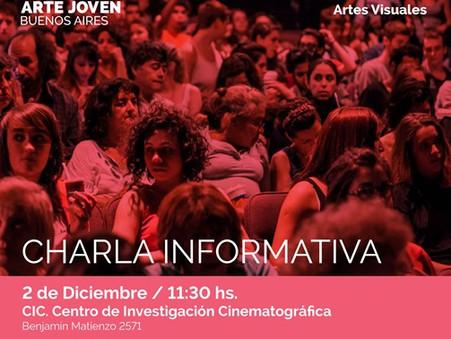 Charla Informativa sobre la Bienal de Arte Joven