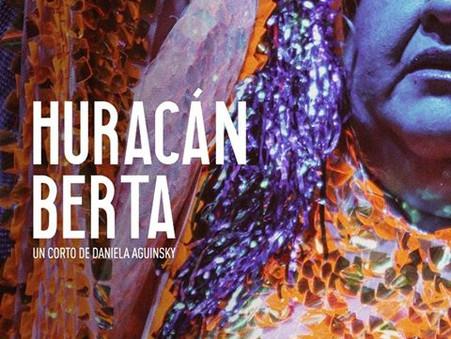 Huracán Berta de Daniela Aguinsky en el Festival Cineversatil