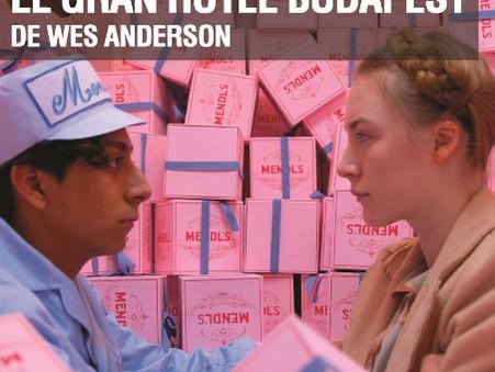"""""""El gran hotel budapest"""" de Wes Anderson - Seminario Anderson + Anderson + Fincher"""