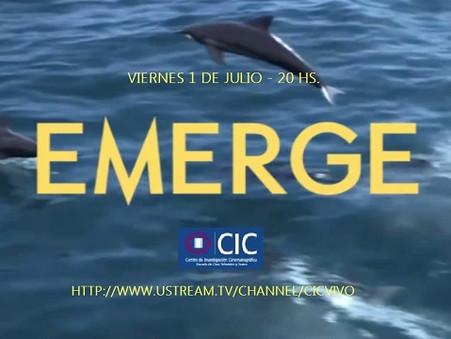 """""""Emerge"""" Piloto de Tv"""