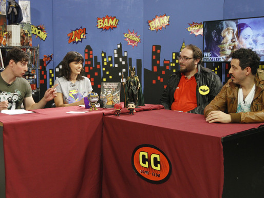 """Comic Club"" Piloto de Tv"