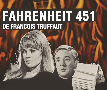 """""""Fahrenheit 451"""" de Francois Truffaut - Ciclo de Cine de Ciencia Ficción"""