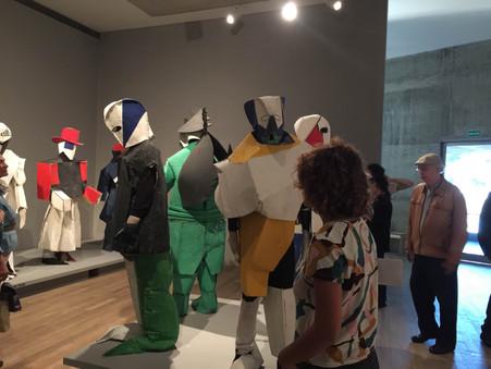 Visita a la Exposición de Kazimir Malevich en Proa