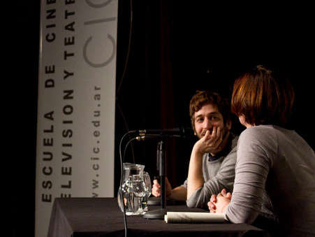 Charla de Martín Piroyansky con Anahí Berneri