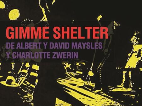 """""""Gimme Shelter"""" de Albert y David Maysles y Charlotte Zwerin - Seminario de Cine y Rock"""