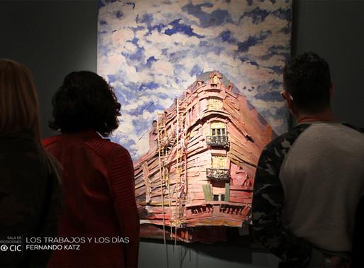 """Se inauguró """"Los trabajos y los días"""" de Fernando Katz."""