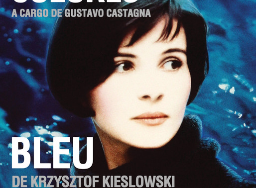 """Bleu"" de Krzysztof Kieslowski - Ciclo de Cine - Trilogías: Colores"