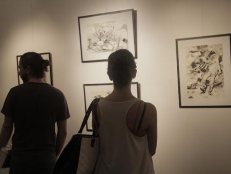 """Exposición """"Enseñar los márgenes"""" de Nicolás Romano"""