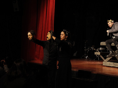 """Se presentó """"Cruel"""" Una pieza teatral fundada en Ricardo III - Work in progress"""