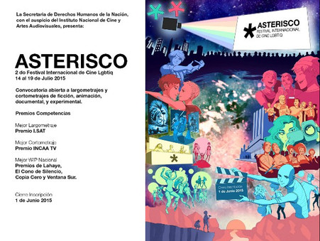 Asterisco - Festival Internacional de Cine LGBTTIQ - Convocatoria