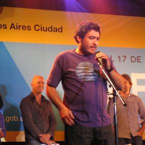 """Román Cárdenas ganó como mejor director del BAFICI con su film """"las piedras"""""""