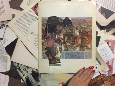 Taller de Creación y Destrucción del Relato del Arte a cargo del artista Juan Cuello.