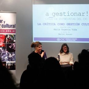 a_gestionar! con María Eugenia Viña - La Crítica como Gestión Cultural