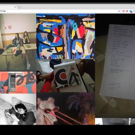 Monitor 0717. Proyecto Artístico-Curatorial de Mano Leyrado
