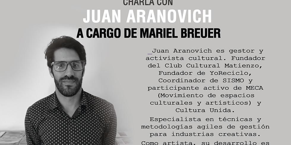 Juan Aranovich en a_gestionar!  - Ciclo de Entrevistas Breves en el CIC