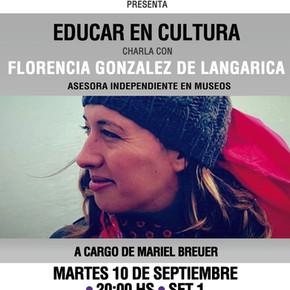 a_gestionar! con Florencia Gonzalez de Langarica - Educar en Cultura