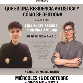 a_gestionar! - con Lina Angel Sabogal y Silvina Amighini de Residencia R.A.R.O.