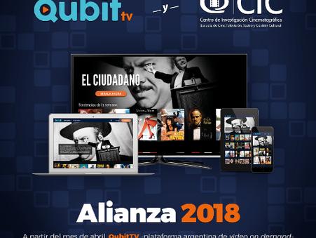 Alizanza entre Qubit.tv y el CIC