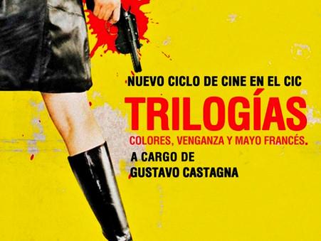 Nuevo Ciclo de Cine en el CIC - Trilogías: Colores, Venganza y el Mayo Francés.