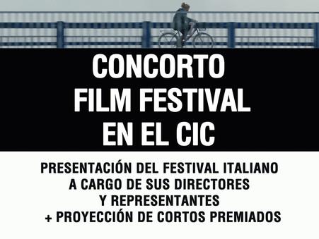 Concorto Film Festival en el CIC