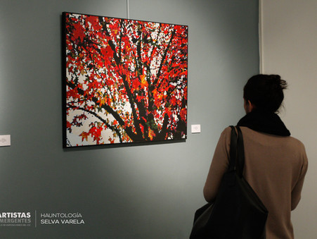 "Se inauguró ""Hauntología"" de Selva Varela."
