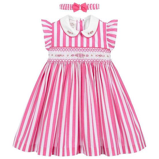 PRETTY ORIGINALS Pink & White 2 Piece Set BD01940E