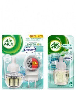 Air Wick Nenuco Pack with Electric Air Freshener & 1 Refill.