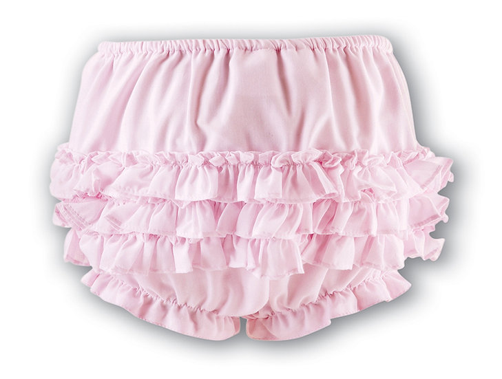 SARAH LOUISE PINK FRILLY KNICKERS