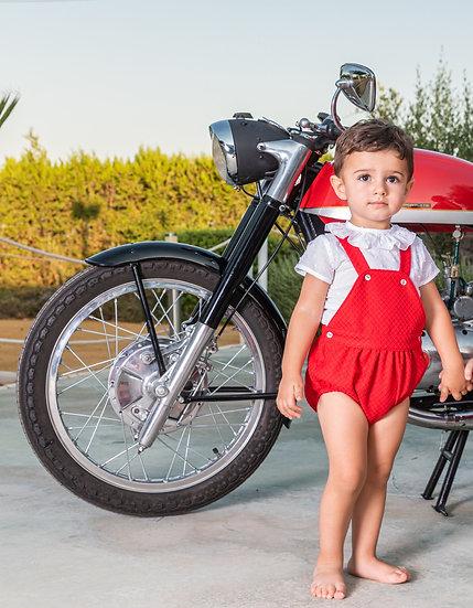 BABINE VALENTINE RED BABY SET